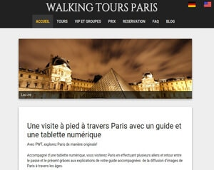 walking tours paris